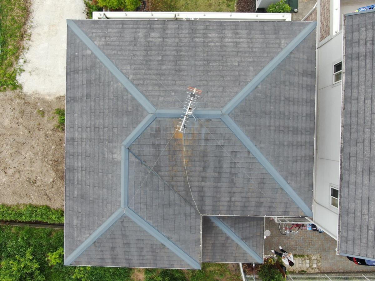 ドローン点検屋根