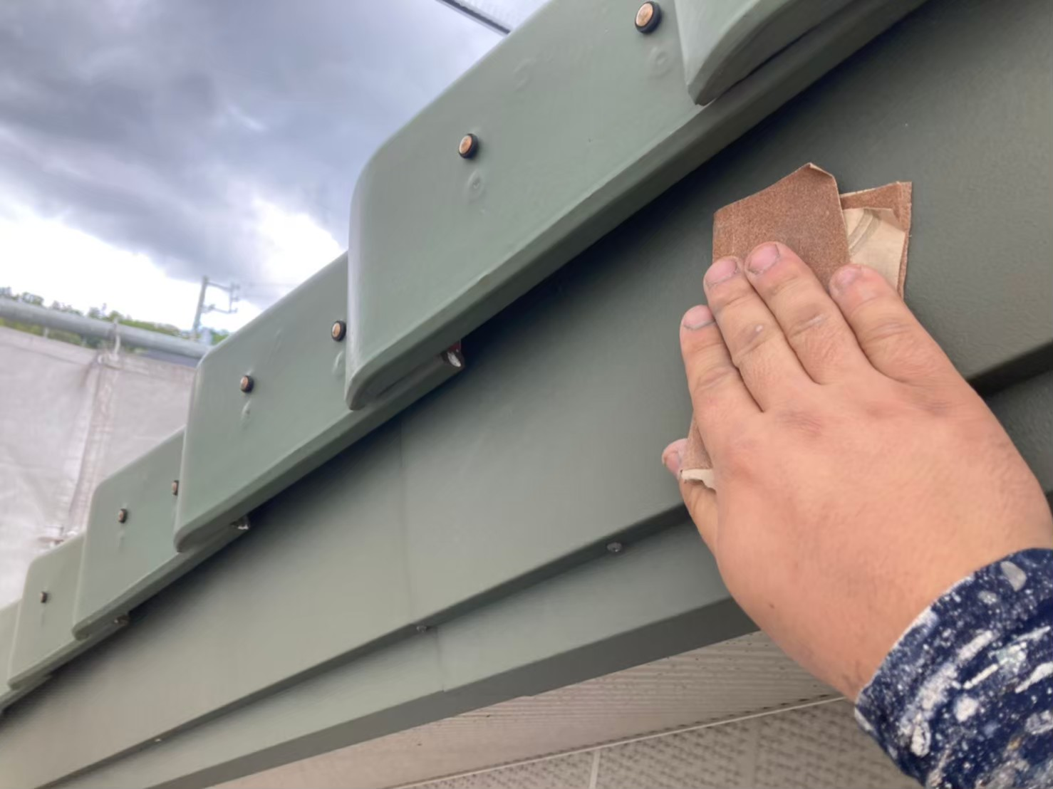 名古屋市緑区のお客様宅にて付帯部塗装工事を施工させて頂きました!