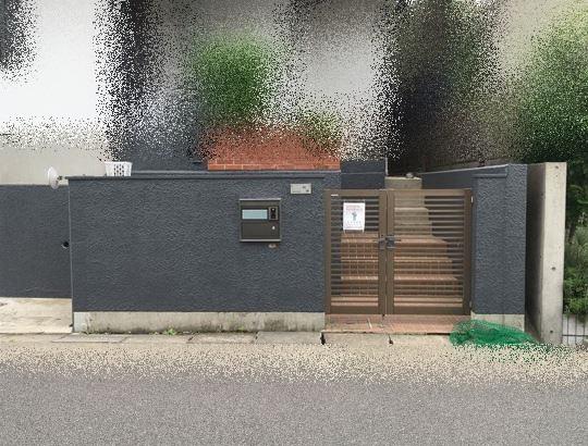 外塀塗装工事