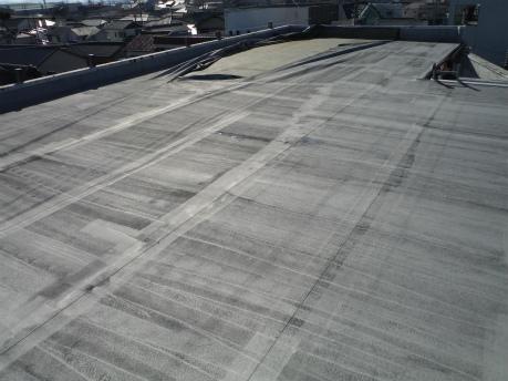 高浜市で屋上の防水点検に行ってきました