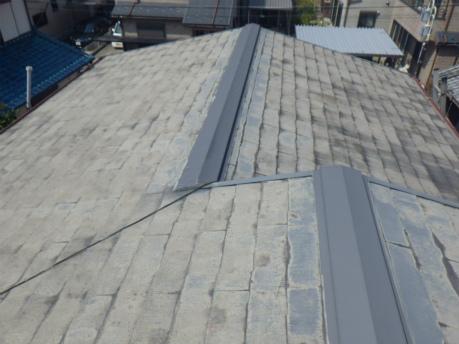常滑市で屋根外壁塗装の為、点検に行ってきました
