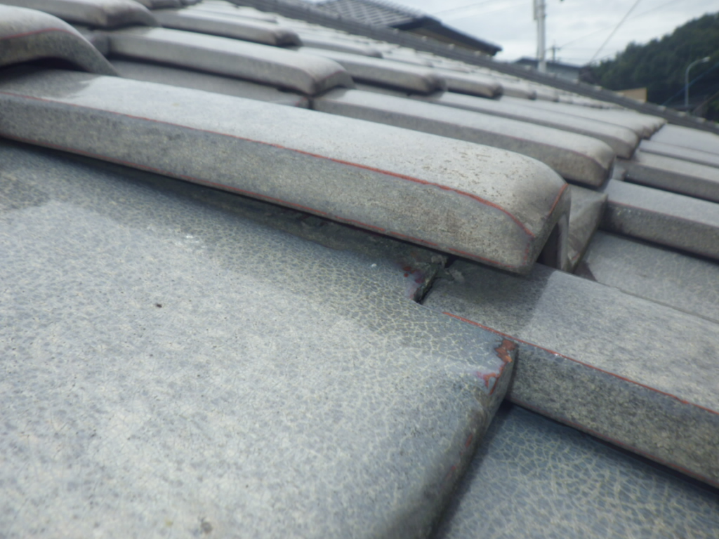 瓦屋根不具合