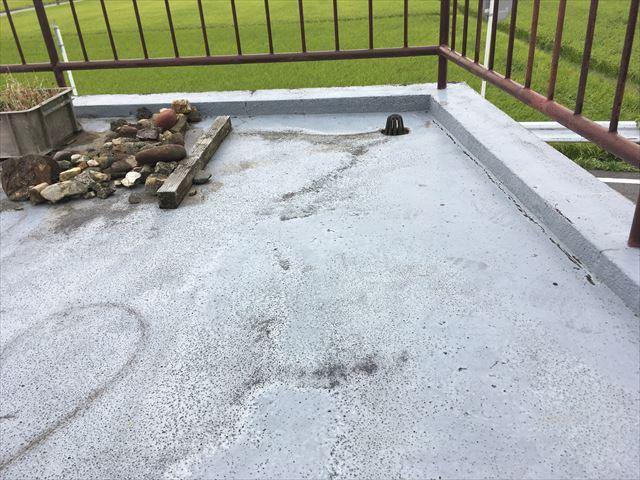 屋上 陸屋根 防水 剥離 劣化 ひび割れ