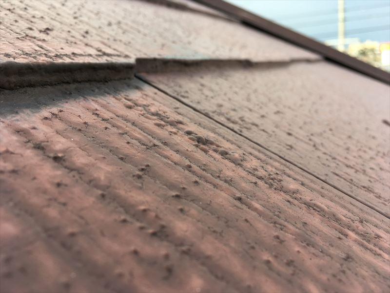 屋根 スレート カラーベスト コロニアル 褪色 屋根塗装