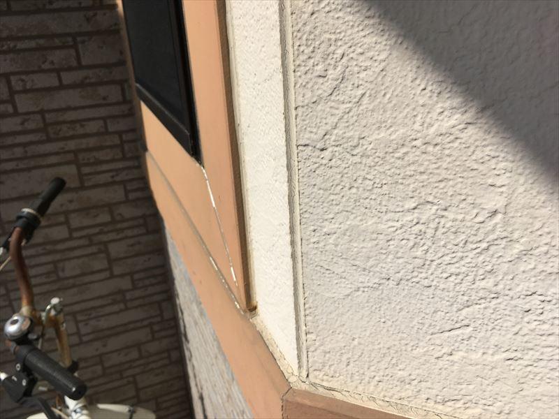 外壁塗装 褪色 色褪せ チョーキング 目地 サッシ コーキング