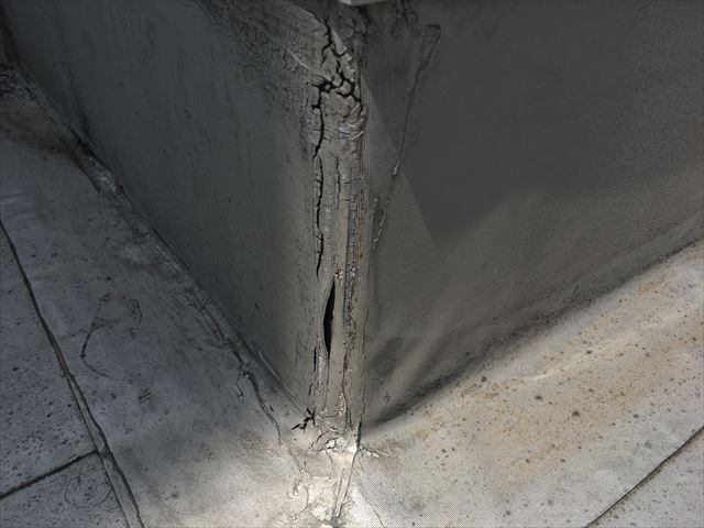 屋上防水の点検|中区